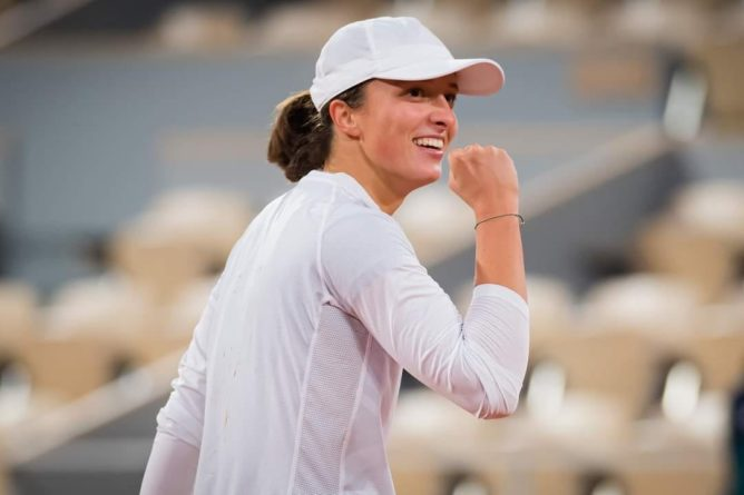 Iga Świątek w finale Roland Garros!