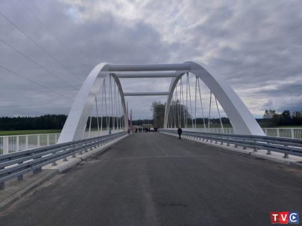 Otwarcie mostu na rzece Orzyc