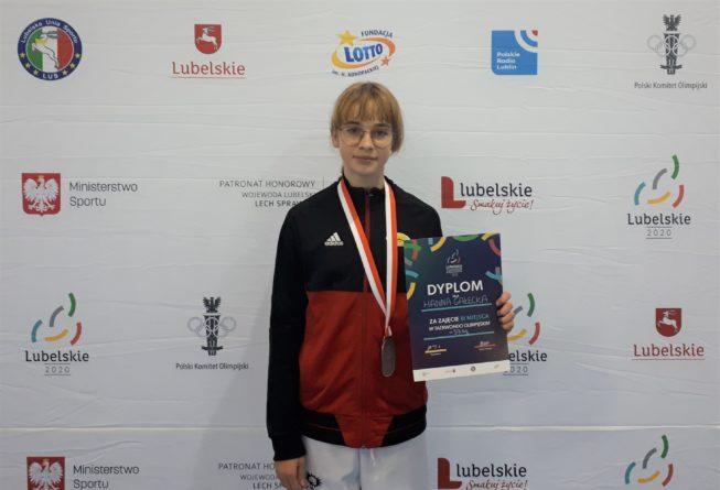 Dwa medale zawodników Promyka w Mistrzostwach Polski Juniorów Młodszych w Taekwondo