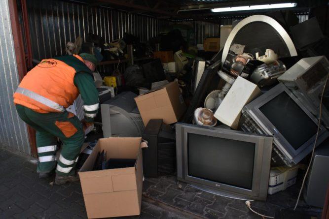 Odbiór odpadów wielkogabarytowych i zużytego sprzętu