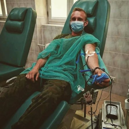 Warto oddawać krew!