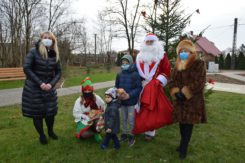 Spotkanie ze Św. Mikołajem w gm.Regimin [FOTO]