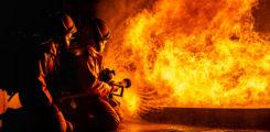 Pożar stodoły. Jedna osoba nie żyje