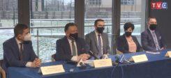 Założenia budżetowe na 2021 r. - podział Mazowsza. Konferencja w Parku Nauki Torus [VIDEO]