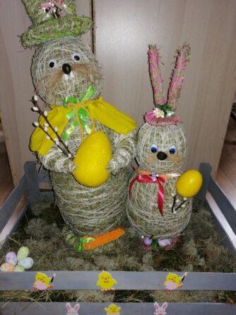 """Rozstrzygnięcie Konkursu Wielkanocnego ,, Na najpiękniejszą ozdobę wielkanocną"""" w Gminie Wiejskiej Ciechanów [FOTO]"""