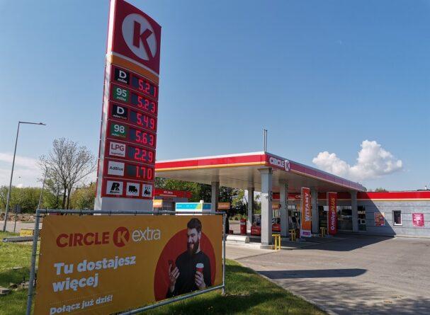 Nowa stacja Circle K w Jeżewie