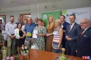 Wręczanie nagród w etapie regionalnym laureatom  XVIII – Ogólnokrajowego Konkursu  BEZPIECZNE GOSPODARSTWO ROLNE 2021