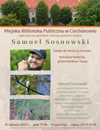 Spacer ornitologiczny w Ciechanowie