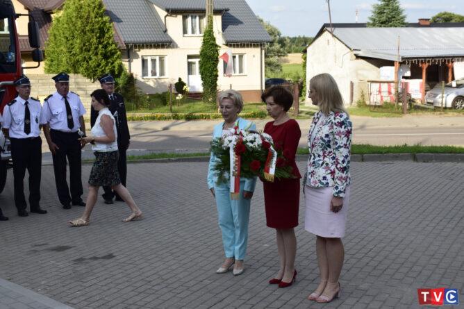 Minister  Maląg odwiedziła gminę Regimin