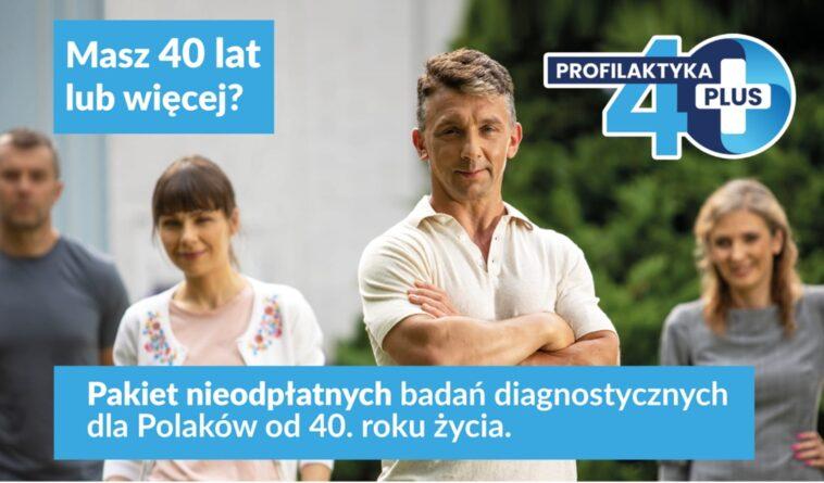 """Program """"Profilaktyka 40 plus"""""""