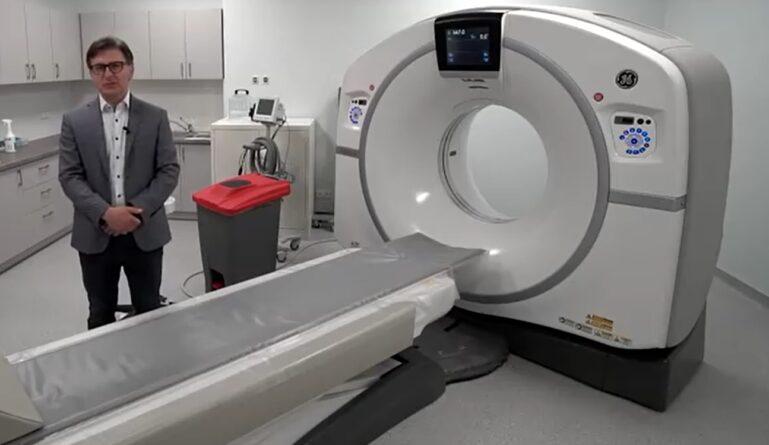 Nowoczesny tomograf trafił do Ciechanowskiego szpitala