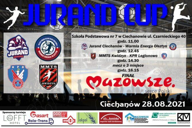 Turniej Piłki Ręcznej Seniorów JURAND CUP już w sobotę!