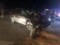 Kolizja trzech aut w Ciechanowie