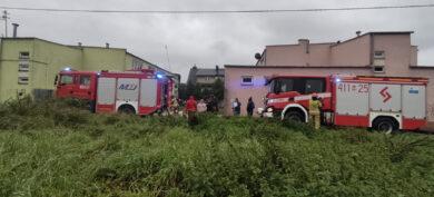 Pożar w piwnicy na ul. Wojska Polskiego
