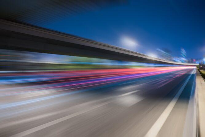 23-latek stracił prawo jazdy za przekroczenie prędkości